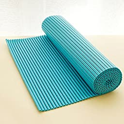 Woooow® It can be cut resizable indoor slip waterproof mats430*1800mm(blue)