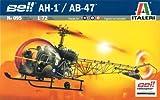 タミヤ イタレリ 1/72 ヘリコプターシリーズ 095 ベル AH1/AB47 39095