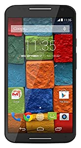 Motorola Moto X - 2nd Generation, Black Resin 16GB (Verizon Wireless)