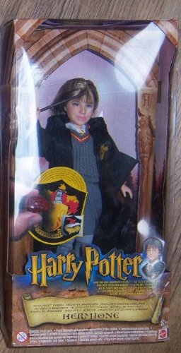 Picture of Mattel Harry Potter and the Sorcerer's Stone: Hogwarts Heroes, Hermione Figure (B00005NFAK) (Harry Potter Action Figures)