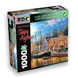 TDC Games Eco Friendly Puzzle - Ships Aglow