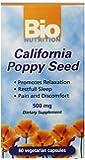 Bio Nutrition California Poppy Vegi-Caps, 60 Count