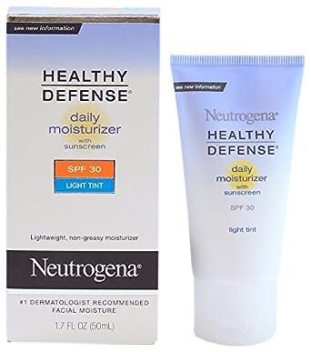 Neutrogena healthy defense daily moisturizer light tint