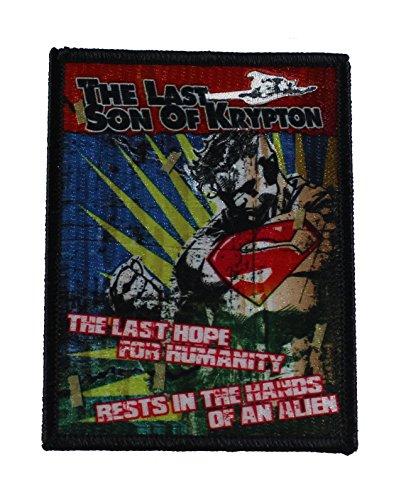 Application DC Comics Superman Last Son Patch