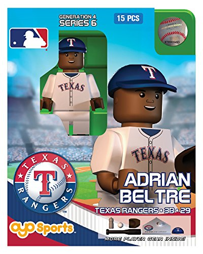 Adrian Beltre OYO MLB Texas Rangers G4 Series 6 Mini Figure Limited Edition - 1
