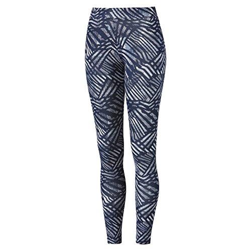 Puma Ess Leggings, Blu/Bianco, L
