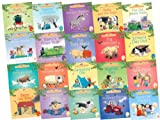 Heather Amery Usborne Farmyard Tales Mini Collection, 20 Books, RRP £39.80 (Barn on Fire; Camping Out; Dolly and the Train; Kitten's Day Out; Market Day; Pig Gets Lost; Pig Gets Stuck; Rusty's Train Ride; Scarecrow's Secret; Surprise Visitors; The Grump