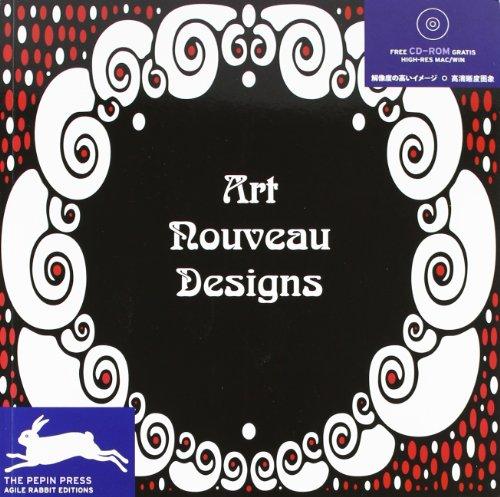 Art Nouveau Designs (Agile Rabbit Editions)