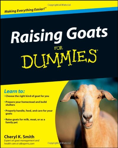 "Go to ""Raising Goats For  Dummies"" page"