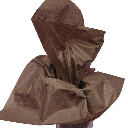 Dress My Cupcake DMC79514 200-Piece Tissue Paper, 20 by 14-Inch, Espresso Brown