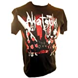 "Naruto Shippuden Mens T Shirt - ""The Akatsuki"" Ready for Action"