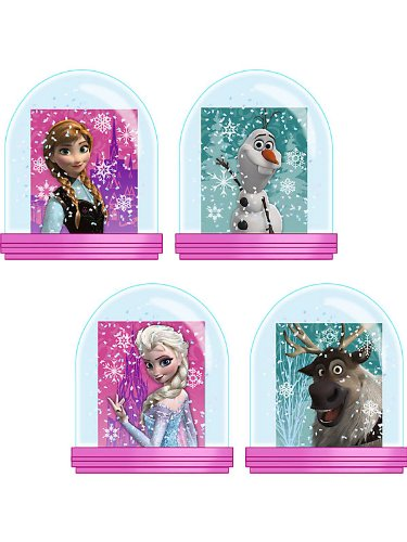 Frozen Snow Globes