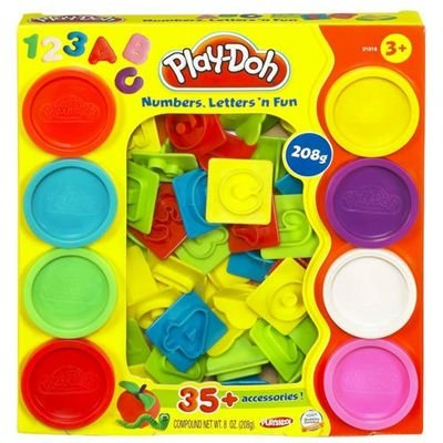 Play-doh - Chiffres et Lettres Play Doh