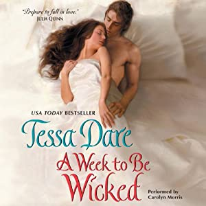A Week to Be Wicked Audiobook