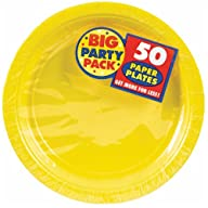 Big Party Pack Paper Dinner Plates 9-…