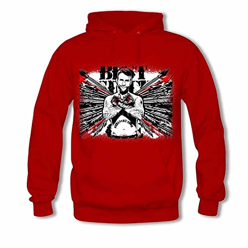 Tough Guy with Arrows Hooded Sweatshirt Men's Hoodies XL