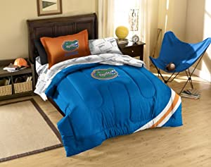 NCAA Florida Gators Twin Bed in a Bag with Applique Comforter by Northwest