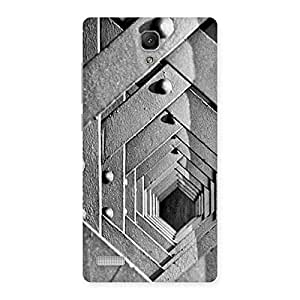 Enticing Cage Hexa Back Case Cover for Redmi Note 4