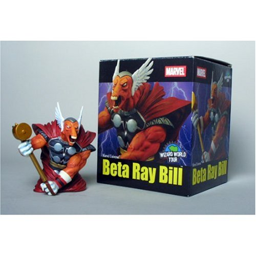 Marvel Universe: Beta Ray Bill (Thor) WW LA Exclusive Bust - Buy Marvel Universe: Beta Ray Bill (Thor) WW LA Exclusive Bust - Purchase Marvel Universe: Beta Ray Bill (Thor) WW LA Exclusive Bust (Diamond Select, Toys & Games,Categories,Action Figures,Statues Maquettes & Busts)