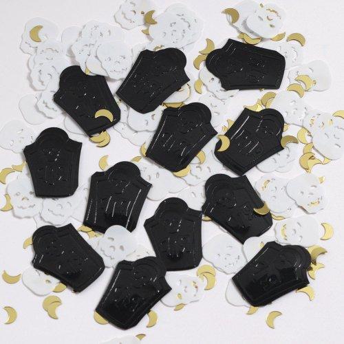 Skull and Tombstone Confetti - 1