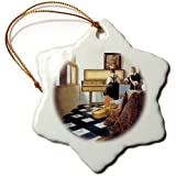 This glossy porcelain ornament is a great gift for family and friends, commemorating each holiday or special occasion, perfect for holiday decorations, these ornaments absolutely sparkle under the lights of the Christmas tree. Make a unique S...