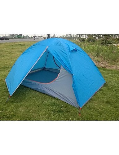 ZQ-Compass-Outdoor-3-Person-Aluminium-Pole-Waterproof-Camping-Tent