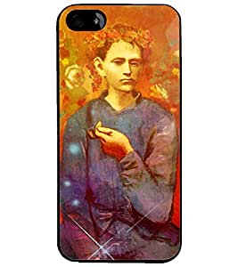 PrintDhaba Painted image D-3897 Back Case Cover for APPLE IPHONE 4 (Multi-Coloured)