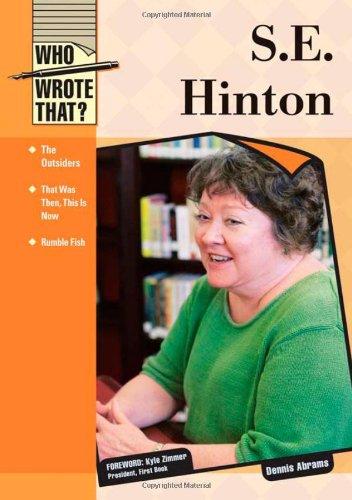 S.E. Hinton (Who Wrote That?)
