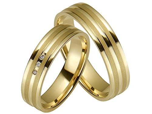 Rauschmayer pair of wedding rings Easy Pair 05516