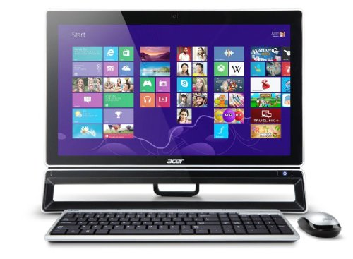 Acer Aspire ZS600 23-inch All-in-One PC (Intel Core i5 3330S 2.7GHz Processor, 6GB RAM, 1TB HDD, DVDRW, LAN, WLAN, BT, TV Tuner, Integrated Graphics, Windows 8)