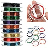 Alcoa Prime 100M ( 10Roll ) Special Copper Wire Craft Wire Bead Wrap Jewelry Size 0. 3mm Used For String Of Beads...
