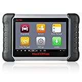Autel OBD2 Scanner MaxiCOM MK808 Automotive Diagnostic Tool Supports Full System Diagnosis & IMMO/EPB/SAS/BMS/TPMS/DPF(MD802 All System+MaxiCheck Pro)