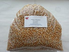 Popcorn Seeds Kernels Yellow Premium Gourmet 5 lbs five pounds All Natural Non-GMO BULK