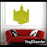 Big Ben London England United Kingdom Wall Decal - Vinyl Decal - Car Decal - Landmark - MC21