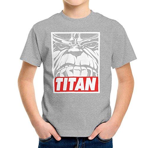 Thanos Titan Obey Logo Kid's T-Shirt