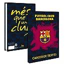 Cahier de texte Barça 2015/16 - Collection officielle FC BARCELONE - Rentrée scolaire - Football FC Barcelona