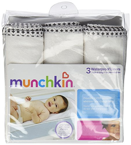 Munchkin 6 Count Waterproof Changing Pad Liners
