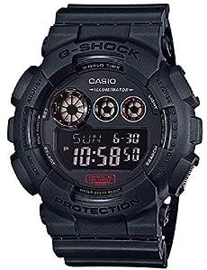 G-Shock GD-120 Military Black Sports Stylish Watch - Black / One Size by G-Shock