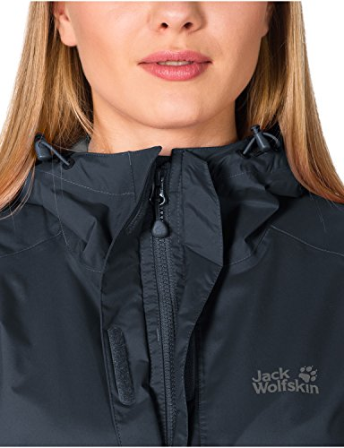 Jack Wolfskin Damen Hardshelljacke Cloudburst, night blue, XL, 1104942-1076005 -
