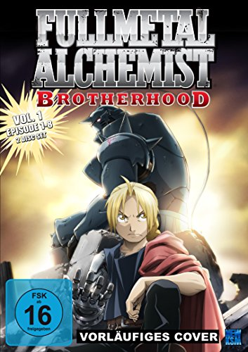 Fullmetal Alchemist: Brotherhood, DVD - Volume 1