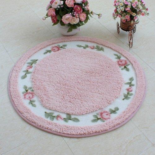 DIAIDI Rustic Area Rugs ,Rural Carpet Roses for Sale,Dinning Room Rug,Bedroom Rug,Floral Bath Rugs,Bed Rug,Cute Rug,Kids Room Rugs, Kids Area Rugs,Round Rug Carpet
