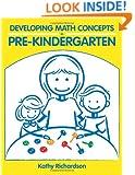 Developing Math Concepts in Pre-Kindergarten