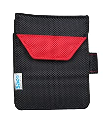 Saco Plug and play External Hard Disk Pouch Cover Bag for WD Elements 2TB USB 3.0 Portable Hard Disk - Red