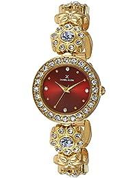 Daniel Klein Analog Red Dial Women's Watch - DK11107-5
