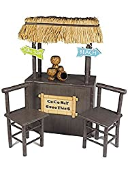 The Queens Treasures 18inch Doll Accessory Shaved Ice Coconut Smoothie Stand