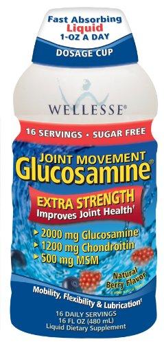 Wellesse mixte Mouvement glucosamine avec