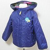 Carter's(カーターズ)フード付きナイロンキルティングジャケット(群青色)