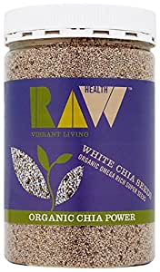 Raw Health Organic White Chia Seeds 450 G