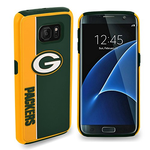 Samsung [Galaxy S7] Licensed collectible NFL Limited Edition Case [S7 Only] Momiji® [Screen Guard] Protector, Cleaning Cloth [Galaxy S7] by forever