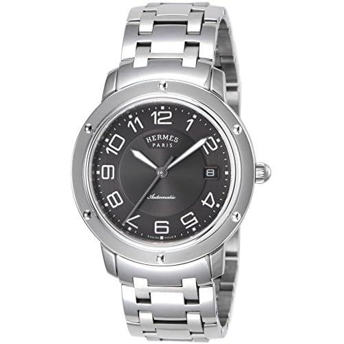[エルメス]HERMES 腕時計 クリッパー グレー文字盤 自動巻  デイト CP2.810.230.4964 メンズ 【並行輸入品】